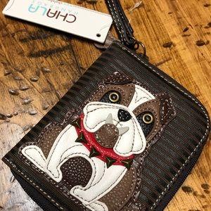 Bulldog wallet NWT